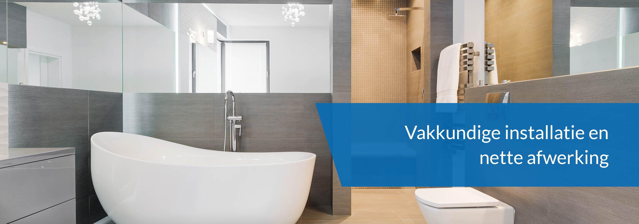 Badkamer verbouwen door de installateur uit Doetinchem.