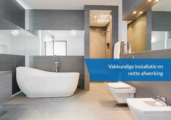 Badkamer Sanitair Maurik : Badkamer verbouwen door de installateur uit doetinchem